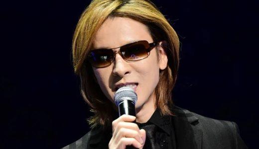 YOSHIKIの年齢は非公開となっているが実際は50歳過ぎている!若々しさを保つ秘訣とは?