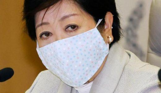 小池百合子のマスクはご近所さんの手作り!かわいい作り方は?型紙や生地などどこで売っている?